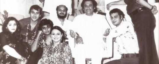 Dimple,Arjun,Amit,Tanuja,Ronu Mujherjee, Kakaji, Kishoreda ...